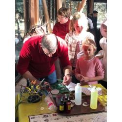 Arbre de Noël pour Haribo au Zoo de la Barben